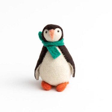 Ornament - Penguin Eskimo Tale