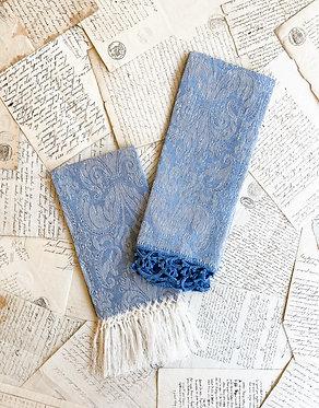 Busatti Guest Towel - Giglio - Wode Blue