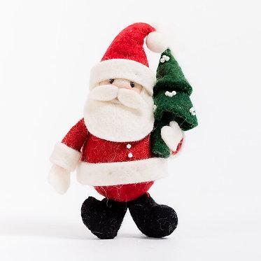 Ornament - Santa Joyful Days