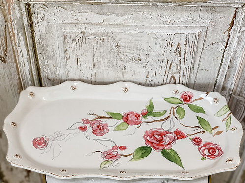Berry & Thread Camellia - Hostess Tray