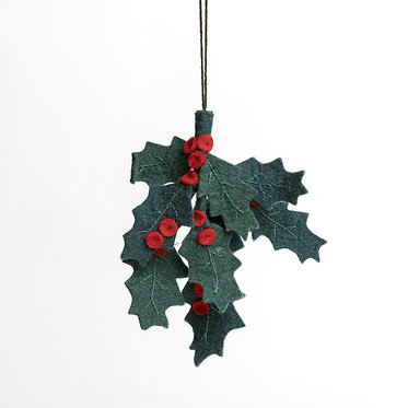 Ornament - Festive Holly