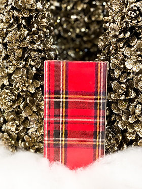 Matchbox - Holiday Red Plaid