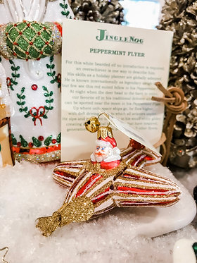 Ornament - Peppermint Flyer