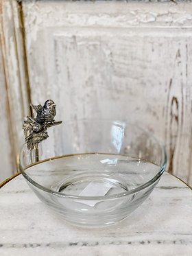 Song Bird Condiment Bowl