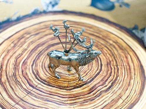 Cheese Pick Set - Elk