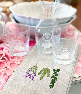 Tea Towel Herbs