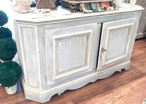 Swedish Painted Cabinet