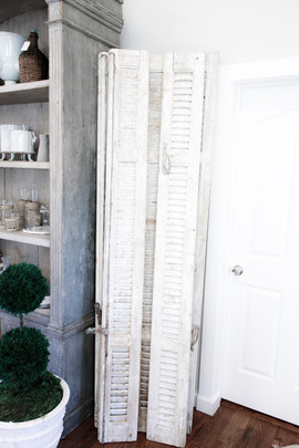 Antique French Colonial Shutters