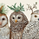 Thumbnail: Placemat - Winter Owls