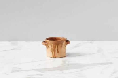Found Thyme Herb Pot