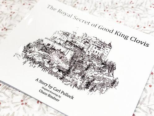 Local Children's Book - The Royal Secret of Good King Clovis