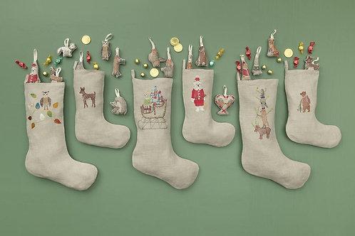 Small Stocking - Polar Bear Santa