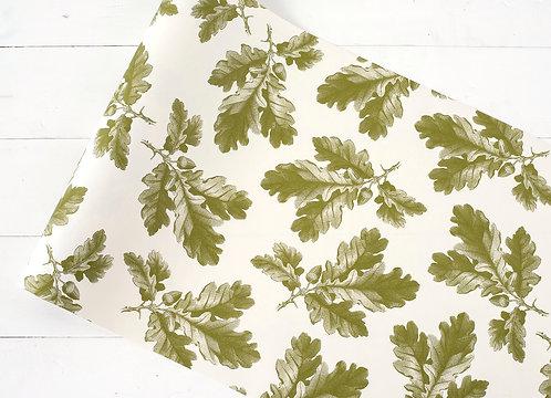 Paper Runner - Oak Leaf