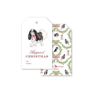 Gift Tags - Dash Tricolor Cavalier