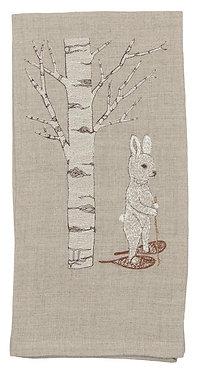 Tea Towel - Snowshoe Hare