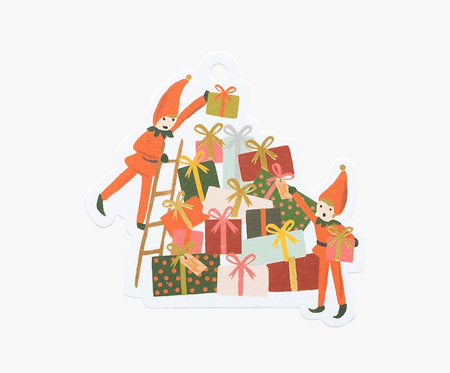 Gift Tags - Elves