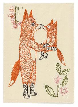 Card - Mama Fox
