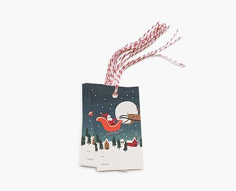 Gift Tags - Santa's Sleigh