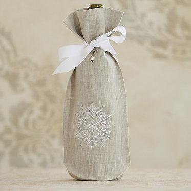 Wine Bag - Snowflake