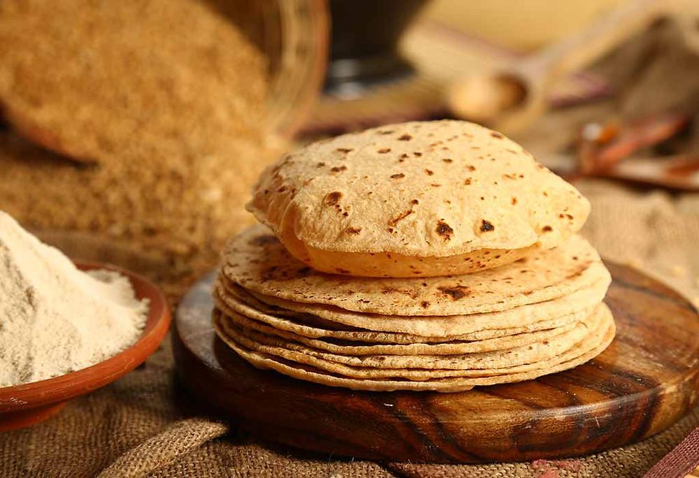 Chapati, also known ad Indian flatbread