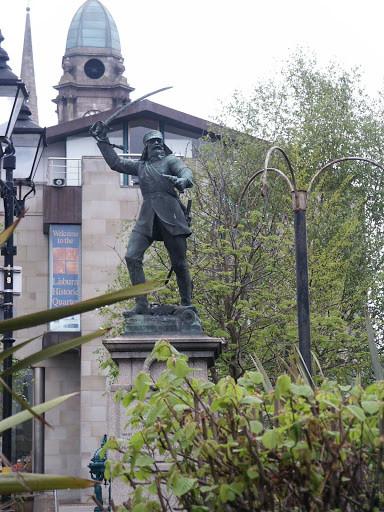 Statue of Nicholson at Lisburn
