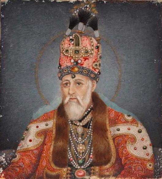 Emperor Akbar Shah or Akbar II