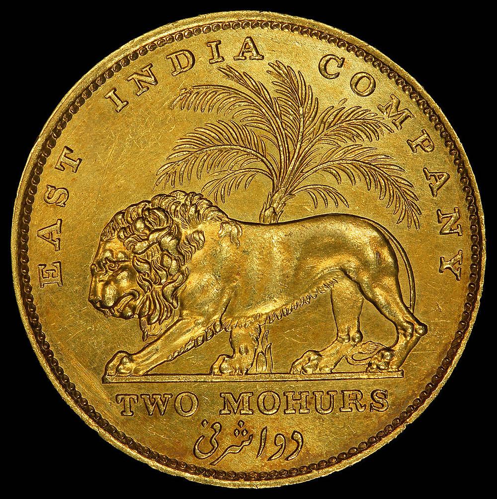 A Mohur (Gold Coin)