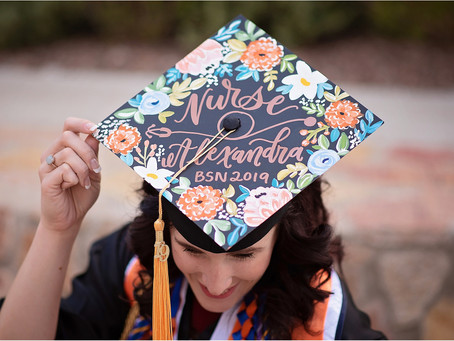 Nurse Alexandra Furman | UTEP Class of 2019 | El Paso - Ft. Bliss, Tx