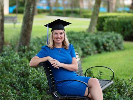 Mama Mastered It | Lynn University Graduation Session | Grace Ashley Images