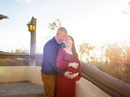 Meghan + Michael | Sunset Maternity Session