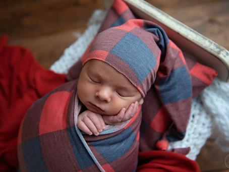 Beau Anthony | Palm Beach Newborn Photographer | Grace Ashley Images