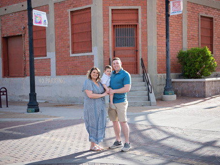 The Leonard's | A Downtown Dream | Family Session