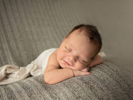 Hey, Baby Linc! - 15 Days New | Palm Beach Newborn Photographer | Grace Ashley Images