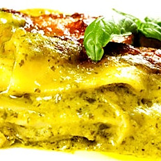 LASAGNE PESTO AND WALNUT