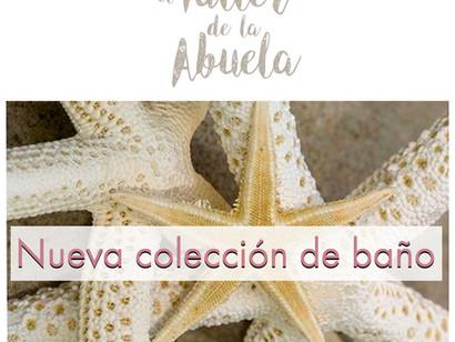 Nueva colección de baño en El Taller de la Abuela.