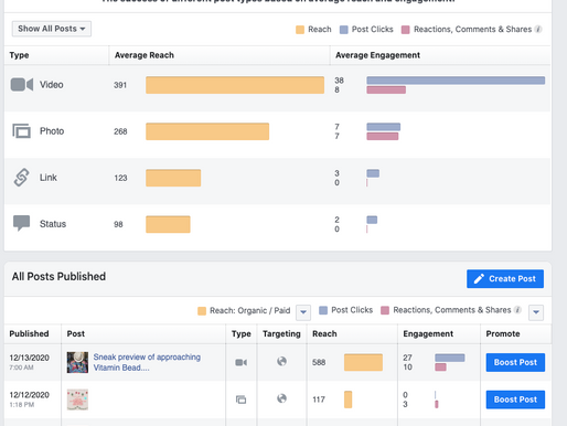 Why look at Insights? Have you ever looked at your Facebook or Instagram Insights?