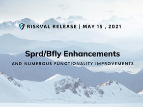RiskVal Fixed Income (RVFI) Weekly Enhancements - 5/14/21