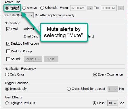 Alert Configuration Enhancements | Weekly Release 1/8/21