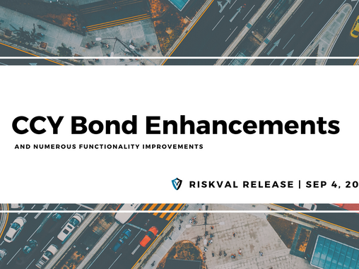 RiskVal Fixed Income (RVFI) Weekly Enhancements - 9/4/20