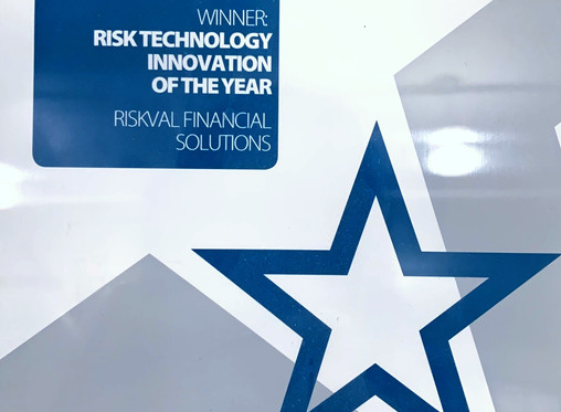 """RiskVal wins """"Risk Technology Innovation of the Year"""""""