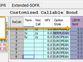 Callable Bond Grid Enhancements   Weekly Release 1/15/21