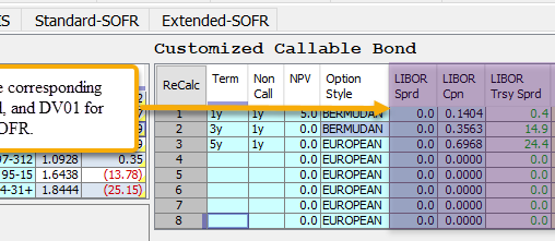 Callable Bond Grid Enhancements | Weekly Release 1/15/21