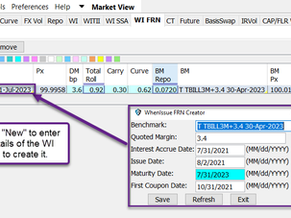 [New]Market View – WI FRN   Weekly Release 7/16/21