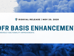 RiskVal Fixed Income (RVFI) Weekly Enhancements - 11/20/20