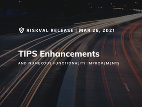 RiskVal Fixed Income (RVFI) Weekly Enhancements - 3/26/21