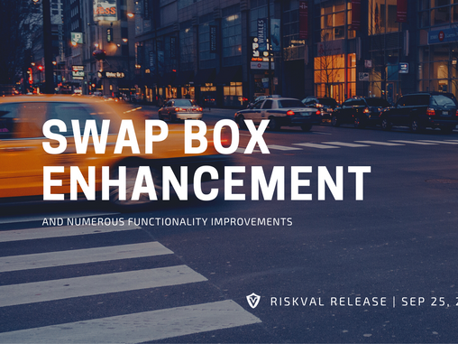 RiskVal Fixed Income (RVFI) Weekly Enhancements - 9/25/20