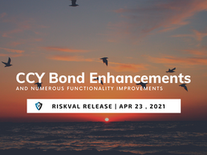 RiskVal Fixed Income (RVFI) Weekly Enhancements - 4/23/21