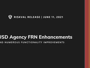 RiskVal Fixed Income (RVFI) Weekly Enhancements - 6/11/21