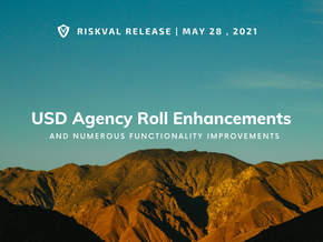 RiskVal Fixed Income (RVFI) Weekly Enhancements - 5/28/21