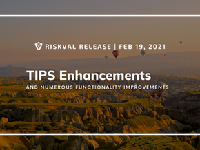 RiskVal Fixed Income (RVFI) Weekly Enhancements - 2/19/21